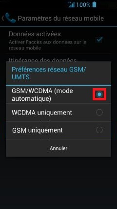 internet Acer android 4 . 2 mode reseau 2