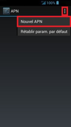 internet Acer android 4 . 2 nouvelle APN