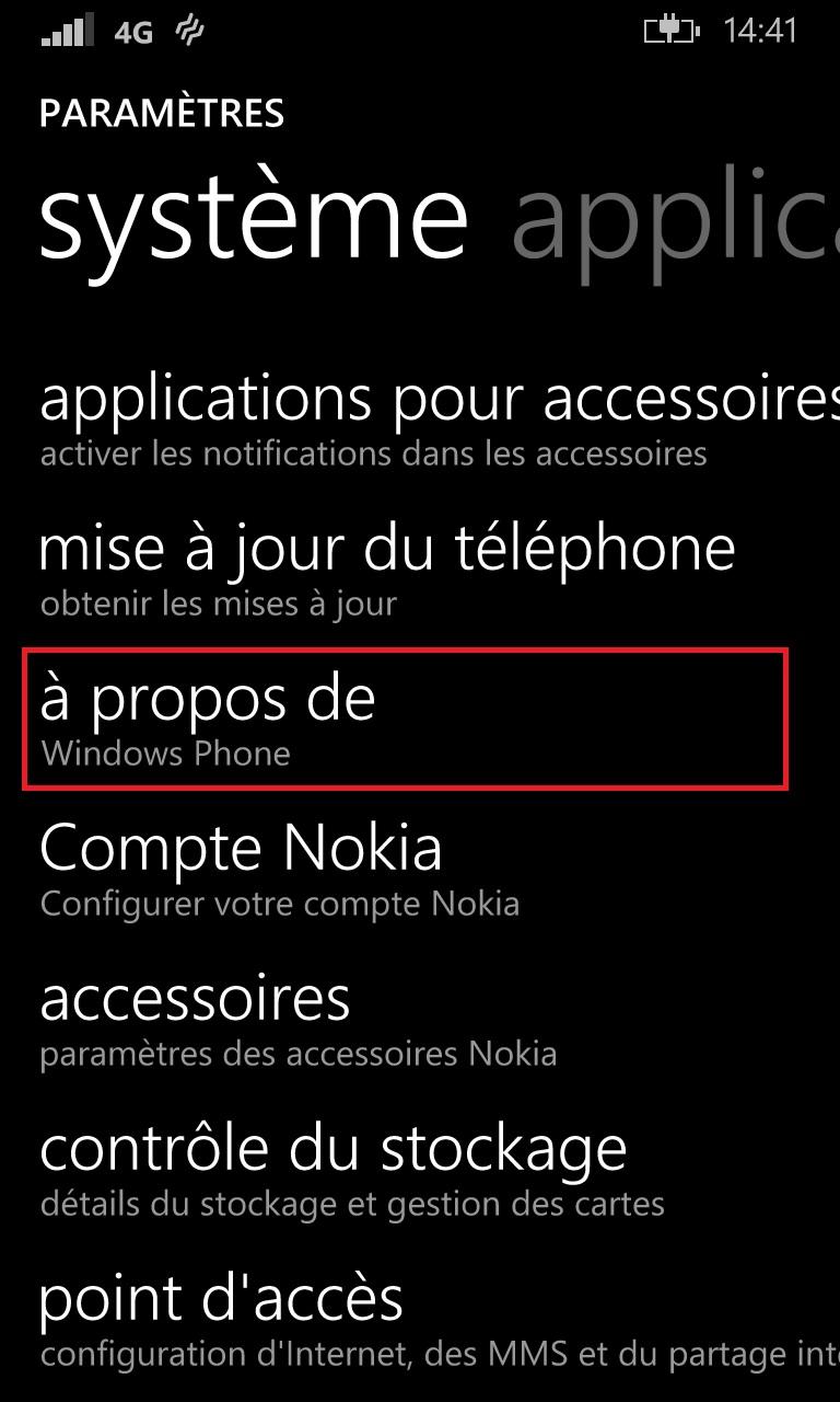 Sauvegarder restaurer mettre à jour son Lumia windows 8.1 maj
