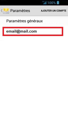 mail Acer 4.2 mail supprimer compte