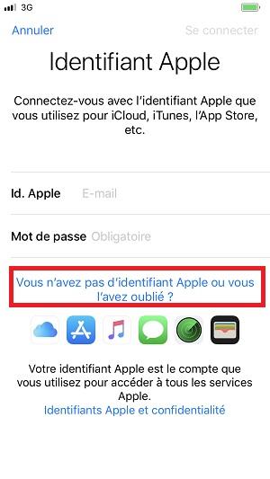 compte apple itunes